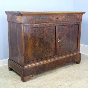 Antique Burr Walnut Louis Philippe Buffet