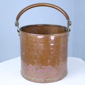 Antique English Copper Pail