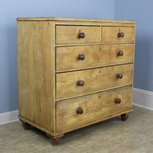 Antique Light Pine Chest of Drawers