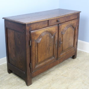 Early French Oak Buffet Base