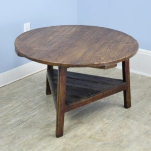 Antique Welsh Ash and Pine Cricket or Coffee Table