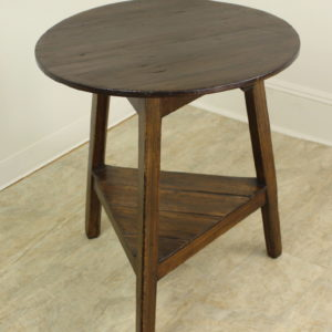 Antique Welsh Pine Cricket Table