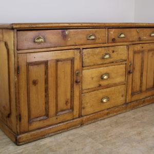 Antique Welsh Pine Dresser Base