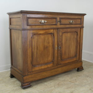 Antique French Two-Door Elm Buffet