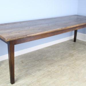 Antique Thick Top Ash Farm Table
