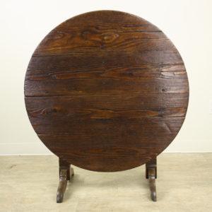 Mellow Pine Tilt-Top Wine or Center Table