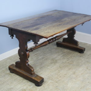 19th Century Mahogany and Walnut Tavern Table