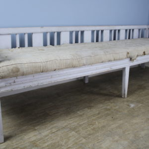 Early Swedish Sofa or Daybed, Original Paint