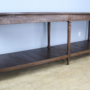Antique French Chestnut Draper's Table