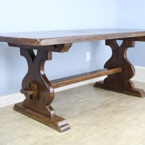 Antique French Fruitwood Refectory Table