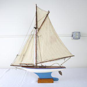 Vintage English Pond Yacht