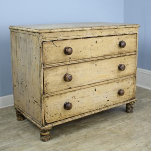 Regency Faux Bamboo Chest with Original Paint