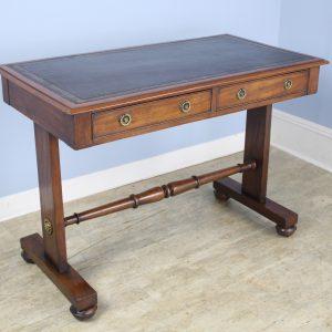 Mahogany Leather Topped Regency Writing Desk