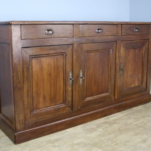 Narrow French Chestnut Enfilade