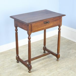 Small Antique Walnut Side Table