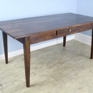 Antique French Chestnut Farm Table
