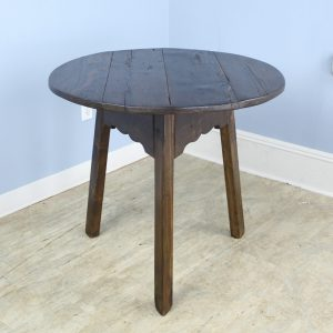 Dark Pine English Cricket Table