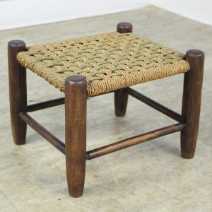 Antique English String Stool