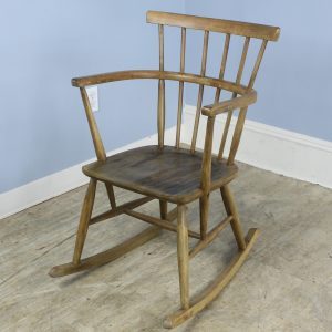Vintage Lady's Rocking Chair in Beechwood
