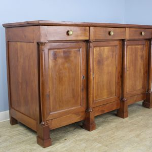 Antique Directoire Fruitwood Enfilade