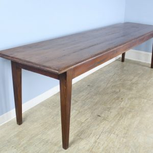 Very Long Antique French Country Pine Farm Table