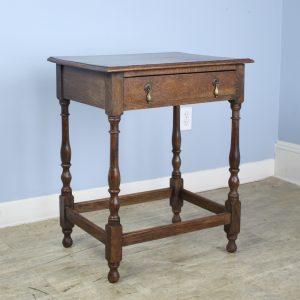 19th Century English Oak Side Table