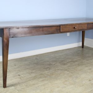 Long French Chestnut Farm Table