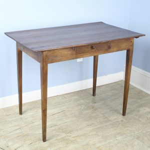 Antique Pine Side Table or Small Writing Table