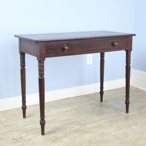 Late Georgian Mahogany Side Table
