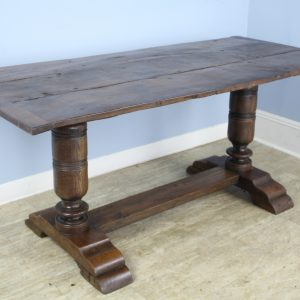Early English Oak Tavern Table
