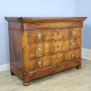 Antique Walnut Louis Philippe Commode