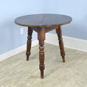 Welsh Pine Cricket Table with Original Painted Base
