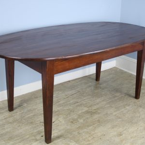 Antique Oval Pine Dining Table