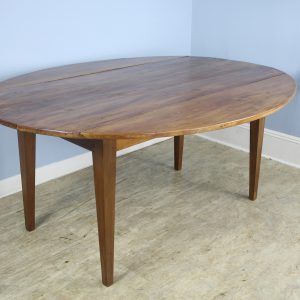 Antique Fruitwood Drop Leaf Dining Table