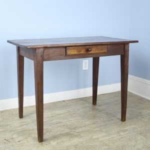 Antique Fruitwood Side Table or Small Writing Table