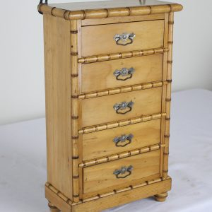 Faux Bamboo Apprentice Chest